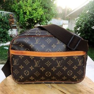 Louis Vuitton reporter pm monogram shoulder bag